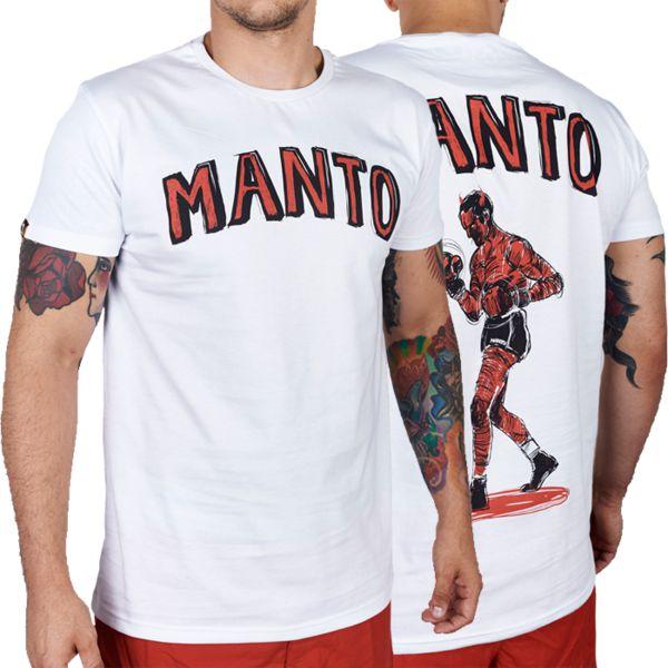 Футболка Manto Devil MantoФутболки<br>Футболка Manto Devil. Состав: 100% хлопок.<br><br>Размер INT: XL