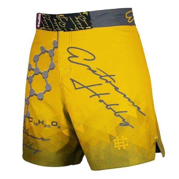 Спортивные шорты rapid (желтый) Extreme HobbyСпортивные штаны и шорты<br>Ультралегкие шорты, изготовленные по спец технологии сплетения полиэфирного волокна с техникой рип-стоп . Чрезвычайно прочные с очень низкой поверхностной плотностью. Эластичная ткань обеспечивает свободу движений во время интенсивных тренировок . Шорты приятны на ощупь. Не впитывают влагу и не теряют цвет из-за УФ-излучения (рисунки не выцветают на солнце). <br>КОЛЛЕКЦИЯ: SPORT<br>ЦВЕТ: ЖЕЛТЫЙ<br>МАТЕРИАЛ: 82% ПОЛИЭСТЕР 18% ЭЛАСТАН<br><br>Размер INT: M