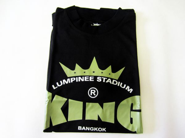 Футболка, Черный KingФутболки<br>Материал – 100% хлопок<br> Идеально годится для тренировок<br> Короткий рукав<br><br>Размер INT: Размер XL