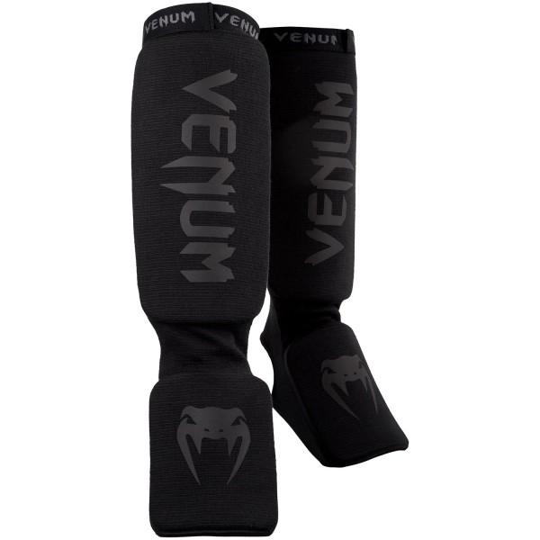 Щитки Venum Kontact Black/Black Venum