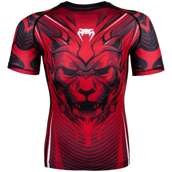 Рашгард Venum Bloody Roar Black/Red S/S Venum фото
