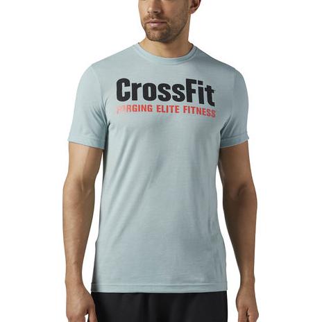 Спортивная футболка Reebok CrossFit Forging Elite Fitness ReebokФутболки<br>Спортивная футболка Reebok CrossFit Forging Elite Fitness. Уход: машинная стирка в холодной воде, деликатный отжим, не отбеливать.<br><br>Размер INT: S