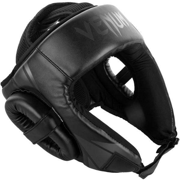 Шлем боксерский Venum Challenger 2.0 Open Face Neo Black Venum