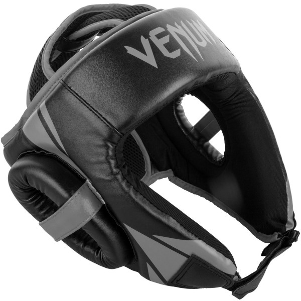 Шлем боксерский Venum Challenger 2.0 Open Face Neo Black/Grey Venum