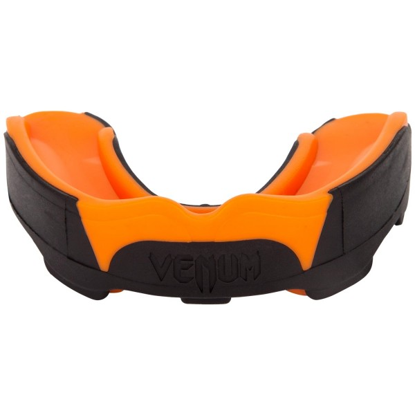 Капа боксерская Venum Predator Black/Neo Orange Venum