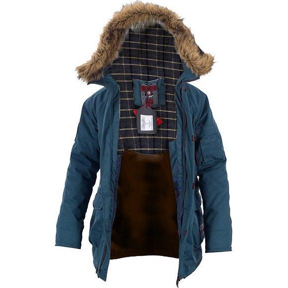Парка Варгградъ Русколань Кайена ВаргградКуртки / ветровки<br>Парка Варгградъ Русколань Кайена. Длинная тёплая куртка с капюшоном. Отлично защищает от холода. - Итальянские ткани; - Бельгийский утеплитель Isosoft, который является на сегодняшний день одним из самых лучших; - Греческая и итальянская фурнитура; Состав: 45% полиэстер, 55% хлопок.<br><br>Размер INT: XL