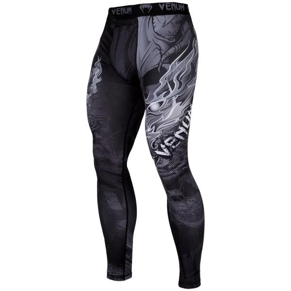 Компрессионные штаны Venum Minotaurus Black/White Venum