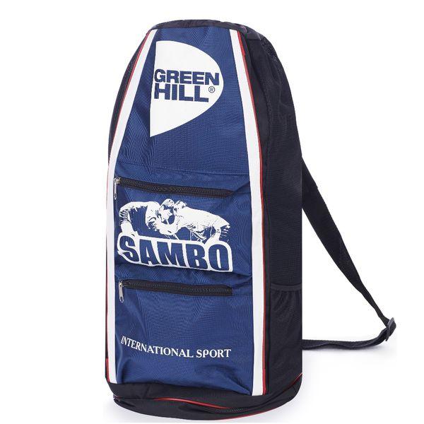 Спортивная сумка-тубус Green Hill Самбо, Синяя