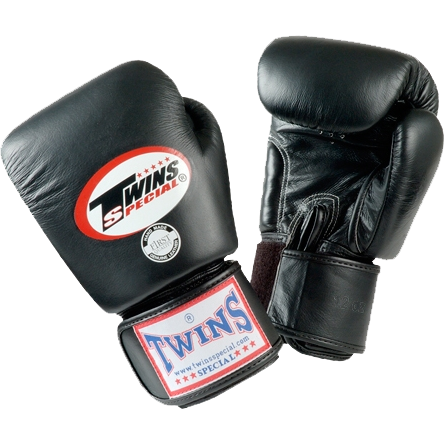 Детские боксерские перчатки Twins Special, Black, 2 OZ Twins Special