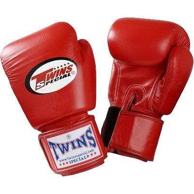 Детские боксерские перчатки Twins Special, Red, 2 OZ Twins Special