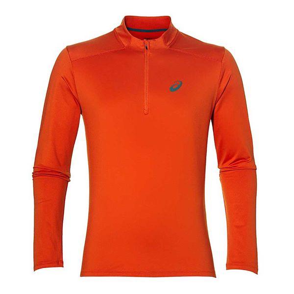 Мужская беговая рубашка ASICS 134090 0516 ESS WINTER 1/2 ZIP AsicsРашгарды<br>• Утепленная мужская беговая рубашка с приталенным силуэтом для занятия спортом в холодное время года. •Влаговыводящий материал обеспечивает сухость и комфортные ощущения даже во время интенсивной тренировки. •Молния на груди для дополнительной воздухопроницаемости. •Технология плоских швов предотвращает натирание и повышает износостойкость. •Cветоотражающий логотип на груди и светоотражающая полоса на спине.<br><br>Размер INT: 2XL