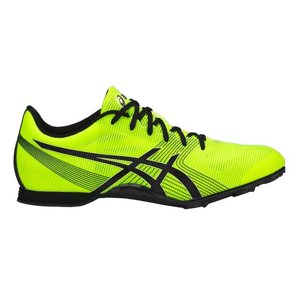 Шиповки ASICS G502Y 0790 HYPER MD 6 AsicsКроссовки<br>ASICS HYPER MD 6 - профессиональные шиповки со сменными шипами из синтетической кожи для спортсменов, которые ищут легкую спринтерскую обувь для коротких и средних дистанций. Синтетическая кожа и верх из сетчатого материала создают необычную легкость, комфорт, достигается воздухопроницаемость и великолепная посадка. Новая легкая пластина утолщена в середине подошвы, что обеспечивает оптимальную поддержку стопы, повышает износостойкость и сцепление с любой поверхностью. Подошва в пяточной области выполнена из вспененного материала EVA, который способствует хорошей амортизации. В комплекте съемные шипы длиной 6 мм с ключом, которые можно менять при их изнашивании. Технологии, использованные в модели ASICS HYPER MD 6:•NC Rubber. Подошва, состоящая из композита с повышенным содержанием натурального каучука, мягче, чем традиционные виды твердой резины, обеспечивает улучшенное сцепление с зальным покрытием. •SpEVA. Материал средней подошвы, который способствует скорейшему восстановлению после сжатия и уменьшает вероятность пробоя промежуточной подошвы. •Racing Lasting. Колодка Соревнование. Идеальная колодка для соревнований. •Board Lasting. Стабильная колодка.<br><br>Размер USA: 11