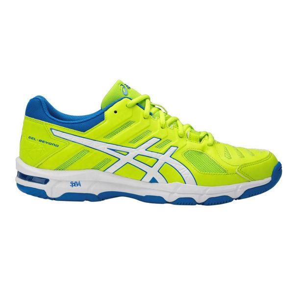 Кроссовки волейбольные мужские ASICS B601N 7701 GEL-BEYOND 5 AsicsКроссовки<br>Мужские волейбольные кроссовки ASICS B601N 7701 GEL-BEYOND 5 ASICS GEL-BEYOND 5 - удобные волейбольные кроссовки низкого профиля для игроков, которые стремятся к высокой скорости и комфорту. Данная модель способствует удобному реверсивному движению посредством новой гелевой пластины Dynamic Gel Plate и успешно поддерживает стабильность стопы. Специальный вид силикона в пятке Asics Gel снижает ударную нагрузку на пятку, колени и позвоночник ребенка, улучшает возврат энергии. Пластиковый литой элемент Trusstic, расположенный под центральной частью подошвы, обеспечивает стабильность и легкость, предотвращает скручивание стопы. Резина повышенной износостойкости значительно продлевает срок службы обуви. Кроссовки ASICS GEL-BEYOND 5 прекрасно подойдут волейболистам разного уровня подготовки: ее удобство и комфорт сполна оценят как искушенные профессионалы, так и любители, изредка выходящие на волейбольную площадку. Технологии, использованные в модели ASICS GEL-BEYOND 5:•Solyte. Mатериал средней подошвы. Суперлёгкий материал (легче стандартной EVA и SpEVA) обеспечивает повышенную амортизацию и износостойкость. •PHF. Память пятки. Три слоя пены запоминают строение ноги атлета, выравнивая голень и плотно прилегая к пятке. •Rearfoot and Forefoot Gel. Cпециальный вид силикона ASICS Гель в носке и пятке cнижает нагрузку на пятку, колени, переднюю часть стопы и позвоночник спортсмена. •Trusstic System. Система Трасстик. Литой элемент, расположенный под центральной частью подошвы. Обеспечивает стабильность, лёгкость, предотвращает скручивание стопы. •Magic Sole. Волшебная подошва. Вентилируемая средняя подошва, минимизирует вес и максимизирует циркуляцию воздуха. •Wet Grip Rubber. Резина для сцепления с влажной поверхностью. Материал, изготовленный из смеси органических и неорганических компонентов, увеличивает силу сцепления даже на влажной поверхности. •EVA. Съемная стелька из вспененного материала E