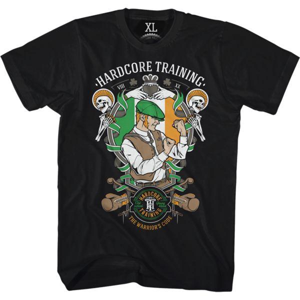 Футболка Hardcore Training Scrapper Hardcore TrainingФутболки<br>Футболка Hardcore Training Scrapper. Ладная-нарядная ирландская футболочка от НСТ. Бла-бла-бла. . . Тут должен быть текст про дух, бойцовский характер и прочие мотивашки, которые ты знаешь прекрасно, дорогой друг, и сам (НСТ считает своих покупателей умницами). А мы , чтобы не повторяться, можем сказать лишь одно- постарайтесь, чтоб в жизни от вас было больше толка, чем от одноногого на конкурсе пинков. Отличный крой, контрастный шов, лихой и бойкий принт от НСТ. Уход: машинная стирка в холодной воде, деликатный отжим, не отбеливать. Состав: 92% хлопок, 8% лайкра. Футболка изготовлена в Европе (EU).<br><br>Размер INT: XXXL