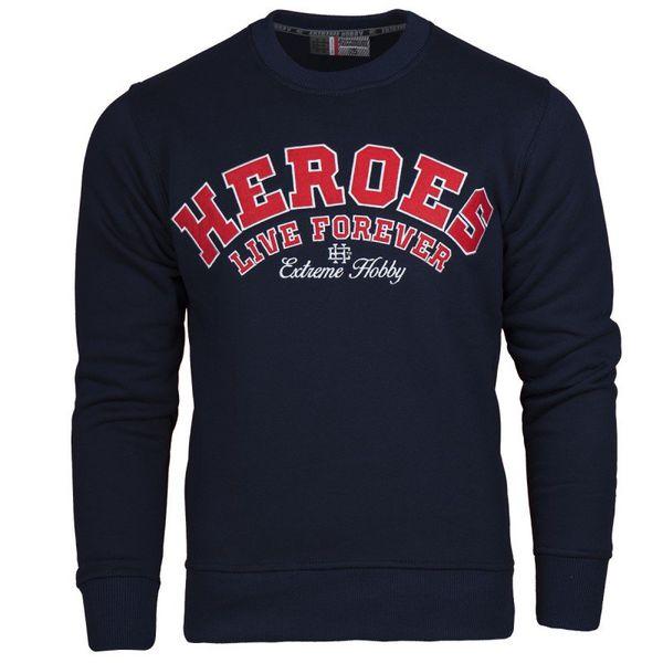 Классическая толстовка heroes (синий) Extreme Hobby