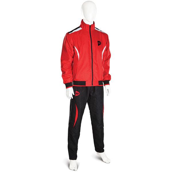 Спортивный костюм Green Hill MICRO, красный Green HillСпортивные костюмы<br>Спортивный костюм GREEN HILL MICRO выполнен из уникальной комбинации современного технологичного материала MICRO TWILL плотностью 120г/м2 с подкладкой из полиэстера. Куртка с эластичными манжетами и нижним краем имеет застёжку на молнию, воротник-стойку и два наружных кармана. Штаны на эластичной резинке со шнуровкой и двумя карманами. Спортивный костюм MICRO может использоваться и как тренировочный и как парадный. - Современный материал MICRO TWILL- Универсальный спортивный костюм для тренировок, мероприятий и повседневной носки.<br><br>Размер INT: S