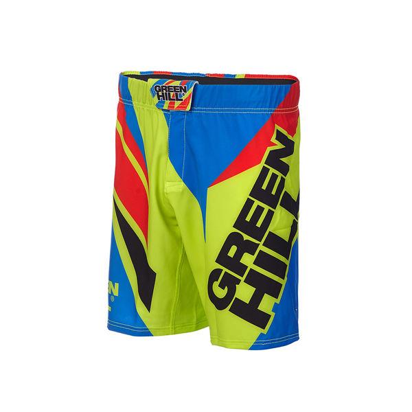 Шорты для MMA Green Hill Green/Blue Green Hill