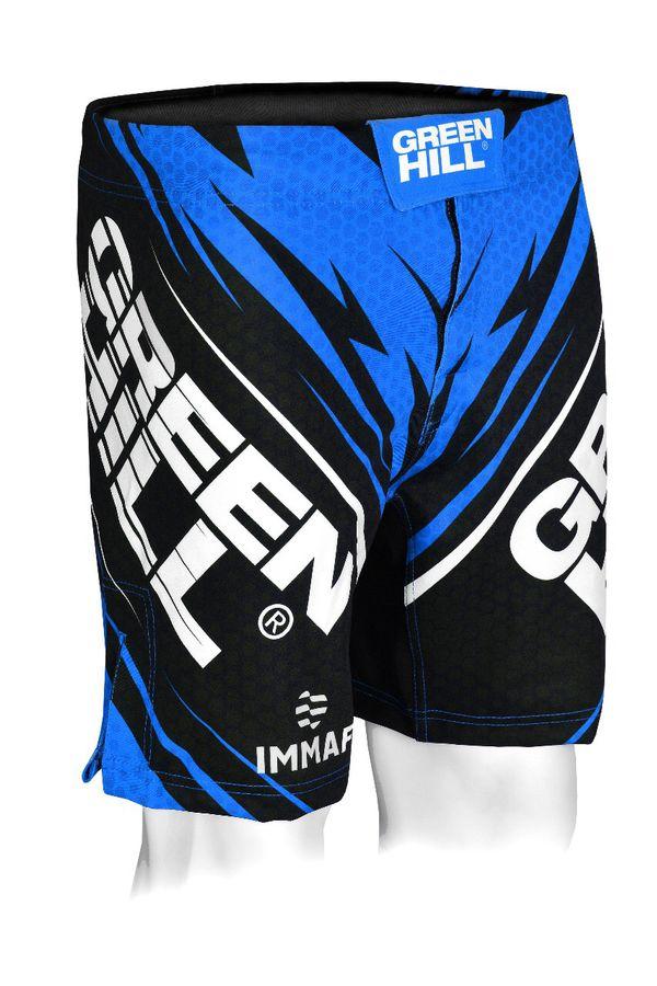 Шорты для MMA Green Hill IMMAF женские синие Green Hill