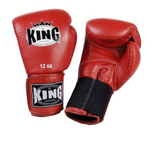Перчатки боксерские тренировочные, липучка, 8 OZ KingБоксерские перчатки<br>Перчатки боксерские на липучке <br> Удлиненное запястье (для лучей фиксации)<br> Высококачественная кожа<br> Фиксация запястье – эластичная резинка<br> Выбор профессионалов<br><br>Цвет: Черный
