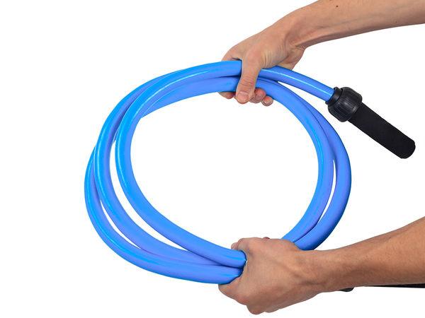 Скакалка тяжелая вес 1.5кг (синяя) Band4Power