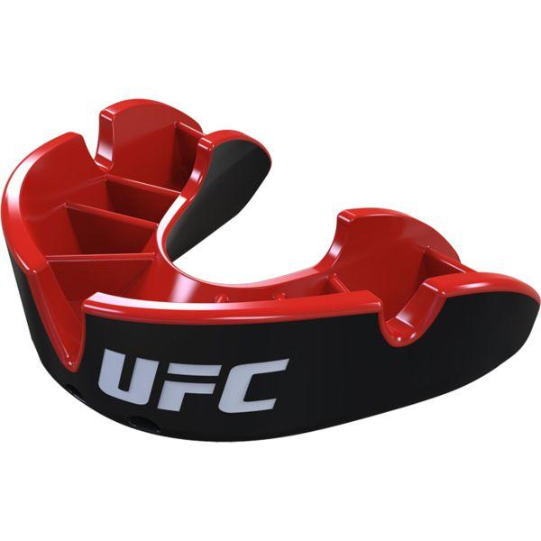 Боксерская капа Opro Silver Level UFC Black/Red Opro