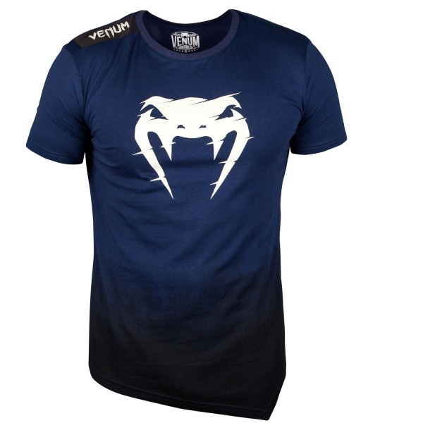 Футболка Venum Interference 2.0 T-Shirt - Navy Blue Venum