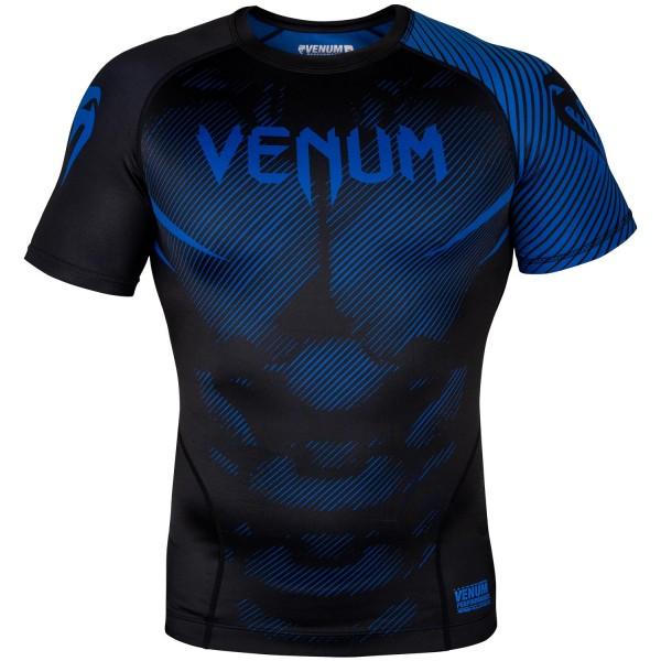 Рашгард Venum NoGi 2.0 Black/Blue S/S Venum фото