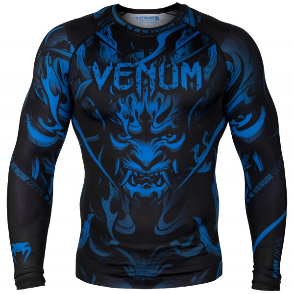 Рашгард Venum Devil - Navy Blue/Black L/S Venum фото