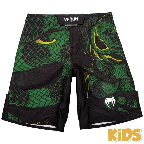 Шорты детские Venum Green Viper Black/Green Venum