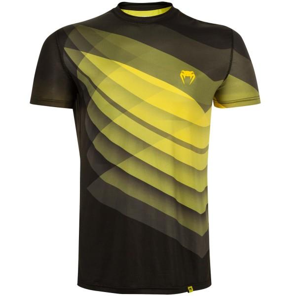 Футболка Venum Dream Dry Tech - Black/Yellow Venum