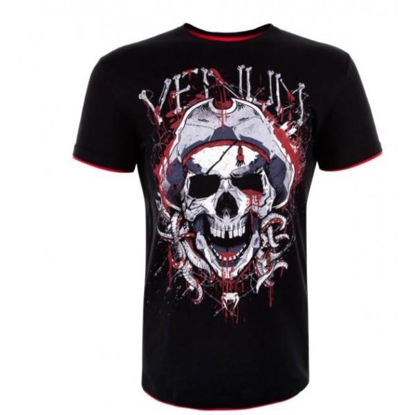 Футболка Venum Pirate 3.0 Black/Red Venum