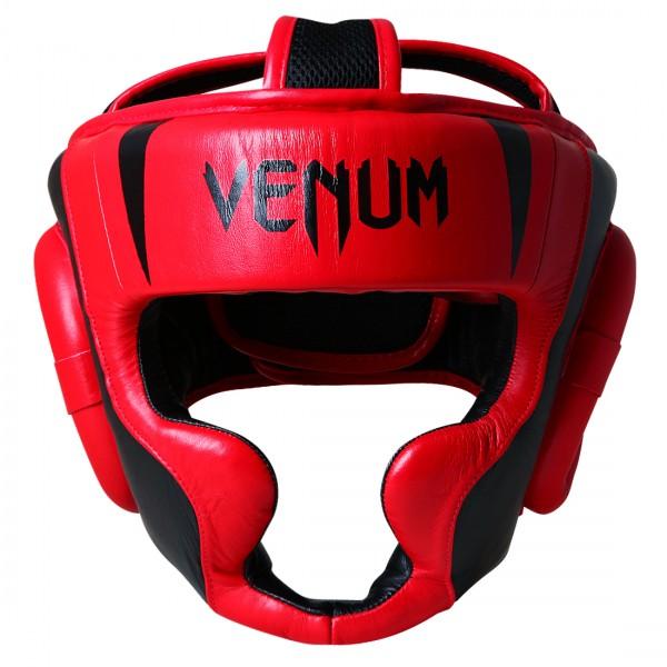 Шлем боксерский Venum Absolute 2.0 Headgear - Red Devil VenumШлемы ММА<br>Venum Absolute 2. 0 Headgear - Red Devil – надежная защита и прекрасное качество. Эргономичные вырезы обеспечивают хорошую видимость. Шлем отлично защищает щеки, уши, подбородок. Сделан из кожи Наппа – это лучшая кожа на рынке! Очень легкий. Великолепный дизайн – яркий и стильный, невозможно не обратить внимание!Характеристики:Состав - 100% кожа наппаУлучшенная плотность контурной пены для предотвращения черепно-мозговой травмыОтлично защищает щеки, уши, подбородокГибкие застежки на липучкахРучная работаПроизводство - Таиланд, ручная работа<br><br>Размер: Без размера (регулируется)