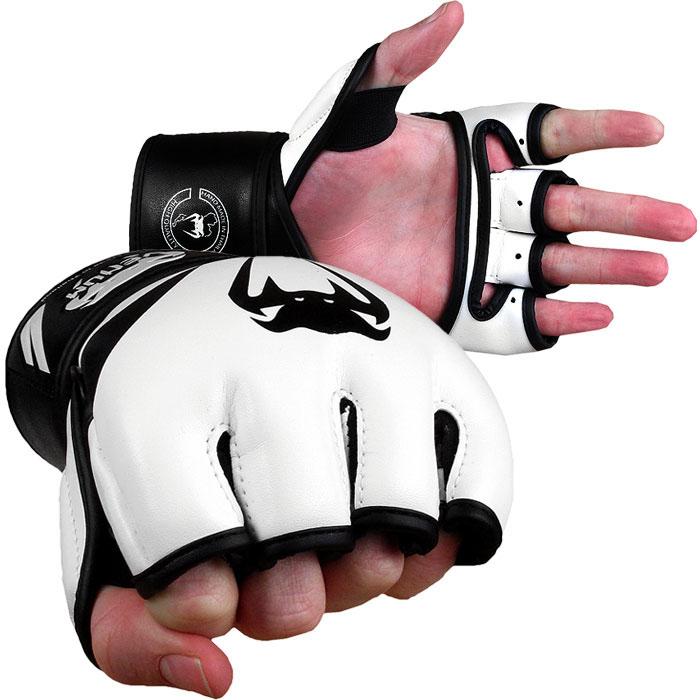 Перчатки ММА Venum Attack Gloves - Skintex leather VenumПерчатки MMA<br>Оденьте эти перчатки и начните массированную атаку на вашего противника! Состоят из 100% кожи скинтекс и идеально подходят как для тренировок, так и для боя. Созданные вручную в Тайланде, они обеспечивают невероятную посадку и необыкновенную прочность в сочетании с удивительным стилем. Высокая плотность внутренней пены дает отличную защиту. Каждый палец, в том числе и большой имеет поддержку и дает оптимальную защиту даже при самых сильных ударах. Характеристики:вес 4 унцииВысококачественная кожа SkintexМногоуровневая пена для лучшей защиты и поглощения удараВеликолепная фиксация запястья, регулируемая ремешкомЭксклюзивный ремешок на липучке для ручного регулированияАгрессивный дизайнРучная работа, Тайланд<br><br>Размер: L/XL