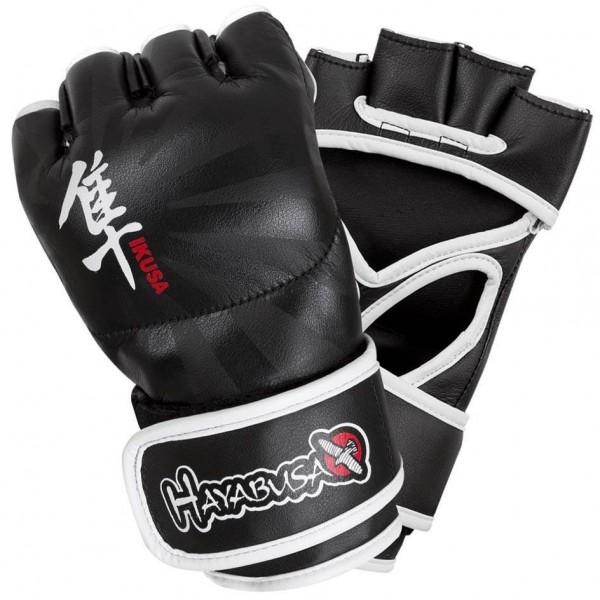 Перчатки ММА Hayabusa Ikusa 4oz MMA Gloves - Black HayabusaПерчатки MMA<br>Благодаря запатентованной технологии застежки Dual-X и Y-Volar дизайна, эти перчатки предлагают непревзойденную производительность, комфорт и превосходную поддержку запястья. Y-Volar конструкция обеспечивает надежную фиксацию для повышения стабильности и отзывчивости. Запатентованная технология двойной застежки обеспечивает максимальную поддержку запястья для оптимальной ударной мощи. Искуственная кожа и эксклюзивная внутренняя подкладка для идеальной посадки и ощущений. Цвет - черный<br><br>Размер: S