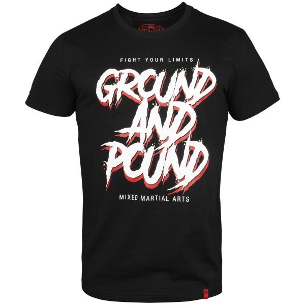 Футболка Venum Ground and pound Black Venum фото