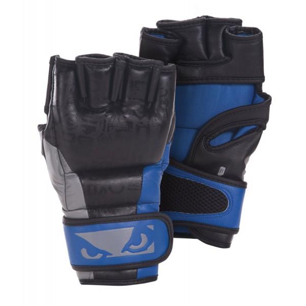 Перчатки ММА Bad Boy Legacy MMA Gloves - Black/Blue Bad Boy