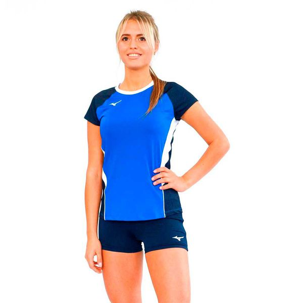 Женская волейбольная футболка MIZUNO V2EA7202 22 PREMIUM HIGH-KYU TEE HIQ (W) Mizuno фото