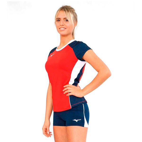 Женская волейбольная футболка MIZUNO V2EA7202 62 PREMIUM HIGH-KYU TEE HIQ (W) Mizuno