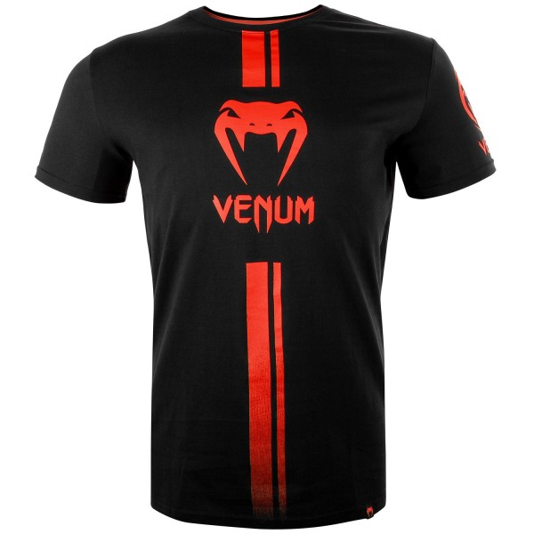 Футболка Venum Logos Black/Red Venum