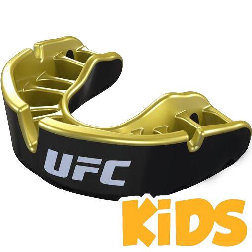Детская боксерская капа Opro Gold Level UFC Opro