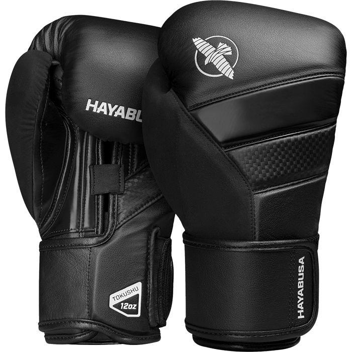 Перчатки Hayabusa T3 Black, 16 oz Hayabusa фото