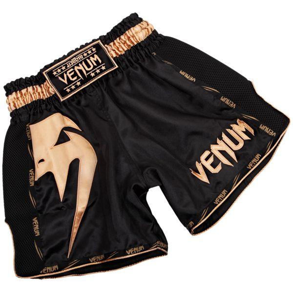 Тайские шорты Venum Giant Black/Gold Venum