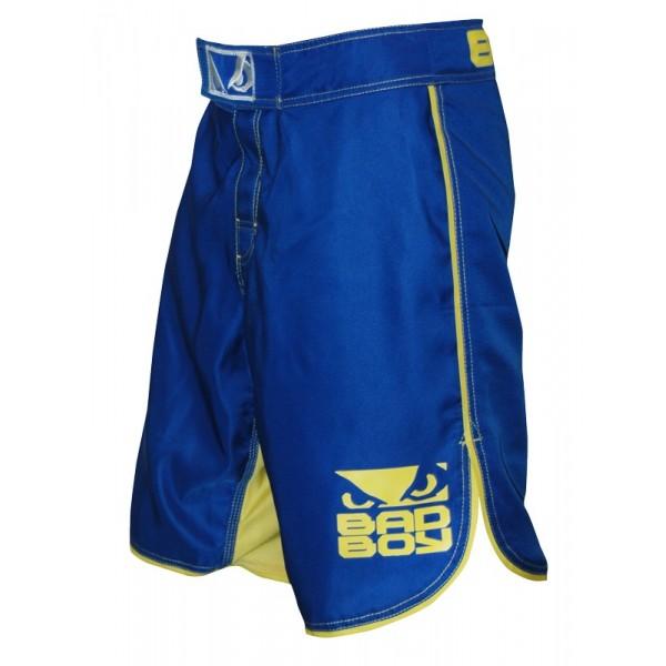 Шорты ММА Bad Boy MMA Blue/Yellow Bad Boy