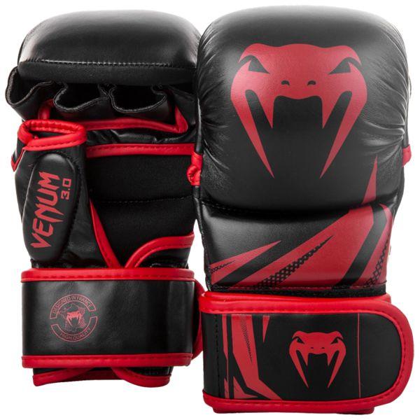 Гибридные перчатки Venum 3.0 Black/Red Venum