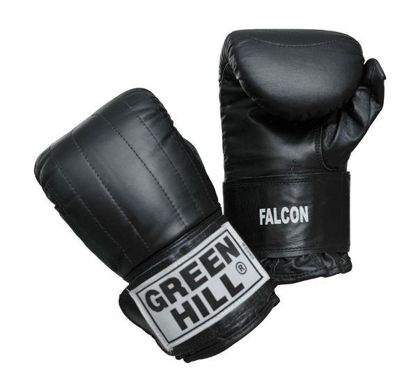 Перчатки снарядные falcon, Чёрные Green Hill