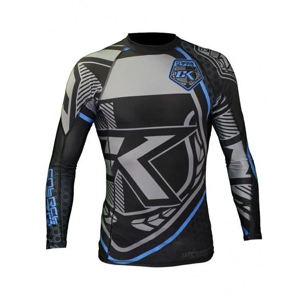 Рашгард Contract Killer Black &amp; Blue Rashguard Long Contract KillerРашгарды<br>- высокое качество,- исключительный креативный внешний вид рашгарда,- антибактериальный,- сохранит Ваше тело сухим и мышцы теплыми,- качественный принт.<br><br>Размер INT: XL