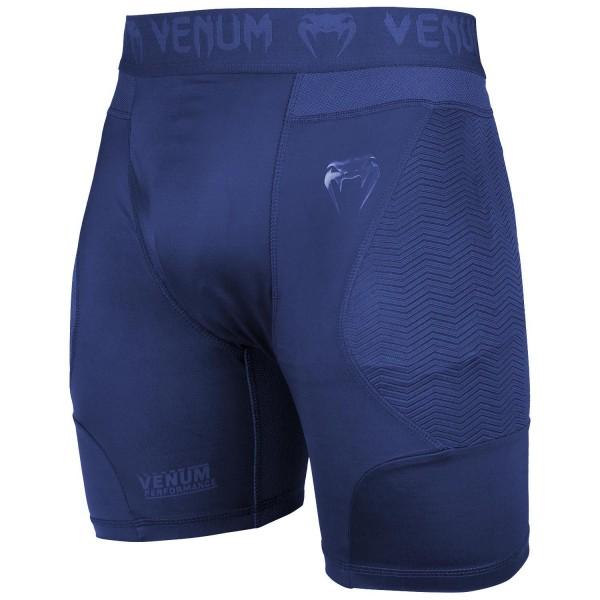 Компрессионные шорты Venum G-fit Navy Blue Venum фото