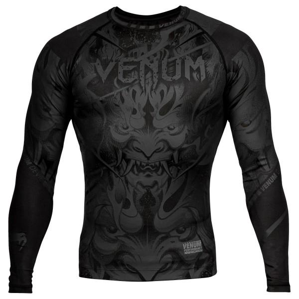 Рашгард Venum Devil Black/Black L/S Venum фото