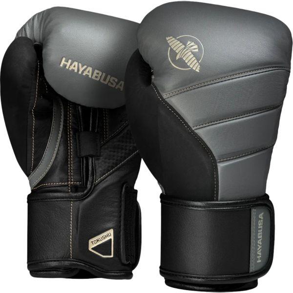 Перчатки Hayabusa T3 Charcoal/Black, 12 oz Hayabusa