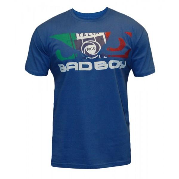 Футболка Bad Boy World Cup Tee - Italy Bad BoyФутболки<br>Футболки Bad Boy прекрасно походят как для занятий спортом так и для ежедневной одежды. 100% ХЛОПОК<br><br>Размер INT: S